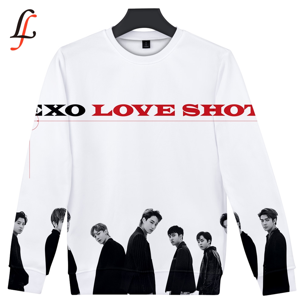 EXO Love Shot 3D Sweatshirts