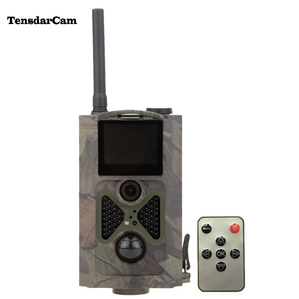 HC500M HD 12MP GSM MMS GPRS SMS Control Scouting Infrared Trail Hunting Camera sim900a development board gsm gprs stm32 module sms wireless data dtmf mms