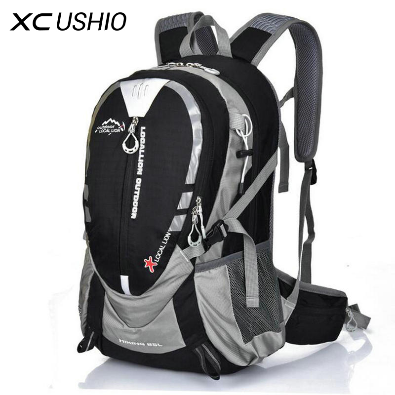 Outdoor Sport Bike Bag 25L Waterproof Nylon Bicycle Riding Backpack Road Cycling Backpacks Men's Rucksacks Packsack Knapsack jsz super light cycling sport nylon backpack bag black grey
