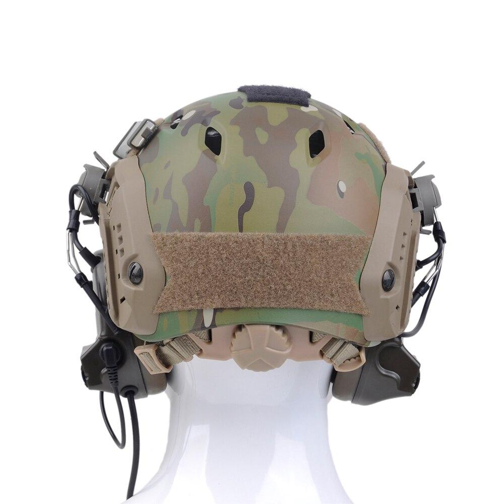 adaptador militar ztac airsoft aviação fone z031