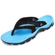 Summer Slippers Outdoor Sandals Men Breathable Beach Shoes Woman Flip Flops Antiskid Slides Couples