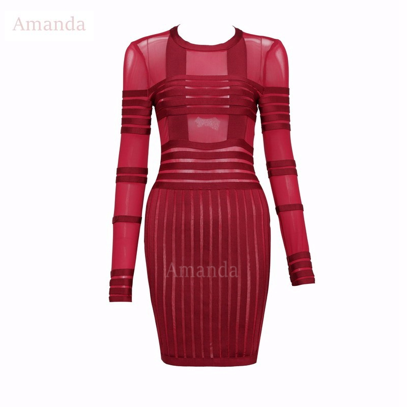 Women's Clothing Sexy Turtleneck Empire Pencil Dress See Through Mesh Patchwork Sheath Dress Black Faux Leather Bandage Dress Party Vestidos