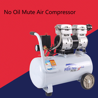 No Oil Mute Air Compressor 2530 Copper Pump 2.5P For Woodworking and Other Working