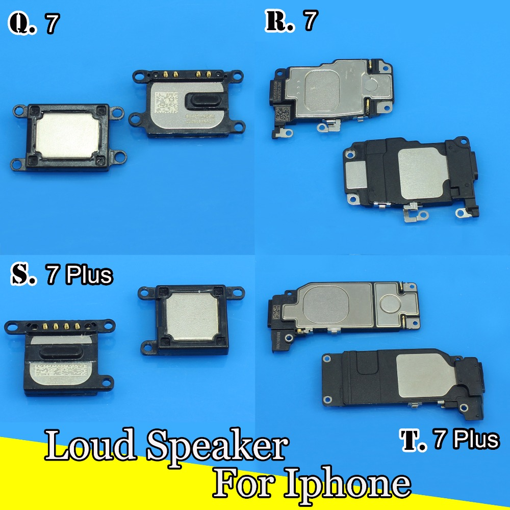 NEW Loud Speaker Sound Buzzer Ringer for iPhone 7 7PLUS 4 4S 5 5C 6S 6plus 6S PLUS 5 Replacement Repair Parts Wholesale