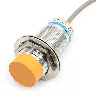 LJ30A3-15-J/DZ 15mm Detection N/C Inductive Proximity Sensor Switch 30mm capacitive proximity sensor switch nc 25mm detection distance ljc30a3 h j dz 2 wire ac90 250v mounting bracket