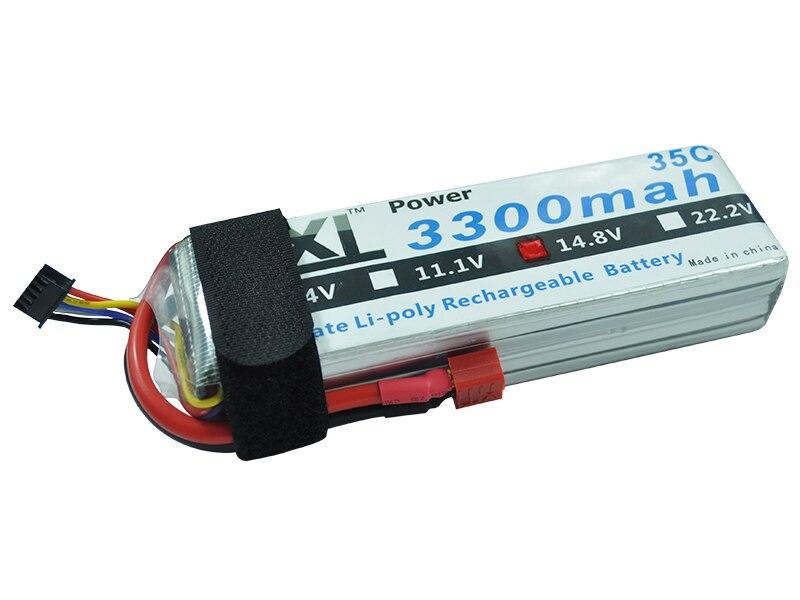XXL font b RC b font AKKU 3300mah 14 8V 4S 35C MAX 70C 4S1P Bateria