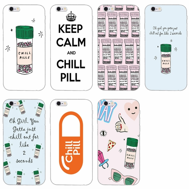 Chills Pills Chocolate Slim Silicone Soft Phone Case For Lg G2 G3