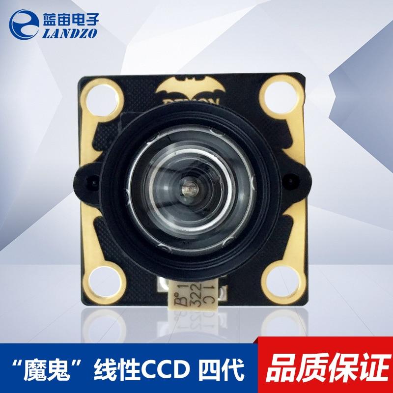 Linear CCD Sensor Array Module TSL1401CL 4 Generation Linear CCD Photoelectric Tracking usb resolution linear array ccd high speed 50 s 200us 20ms 10us 1ms spectrometer board