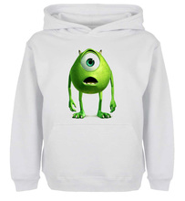 Unisex Fashion Cute Cartoon Monster Mike Laugh Design Hoodie Men's Boy's Women's Girl's Sweatshirt Tops Printed Hoody
