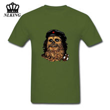Camiseta Parody Star Wars Rebel t shirts men Darth Vader Chewbacca tshirt Camiseta Funny Che Bacca T-Shirt JEDI Chewie Tee Shirt(China)