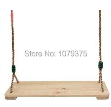 envo gratis columpio de madera para nios de jardn columpio que cuelga la silla juego exterior