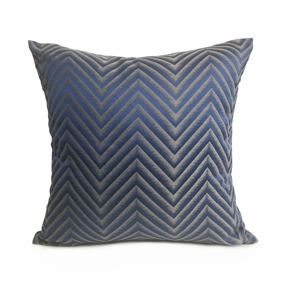 Contemporary Sofa Geometric Pillows: 2018 New Fashion Contemporary Geometric Zigzag Sofa Chair
