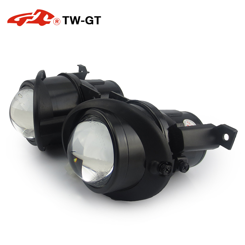 TW-GT 2.5 pouce hid bi-xénon projecteur antibrouillard objectif foglight DIY H11 pour SKODA CITIGO VOLKSWAGEN AMAROK GOLF V JETTA SCIROCCO UP