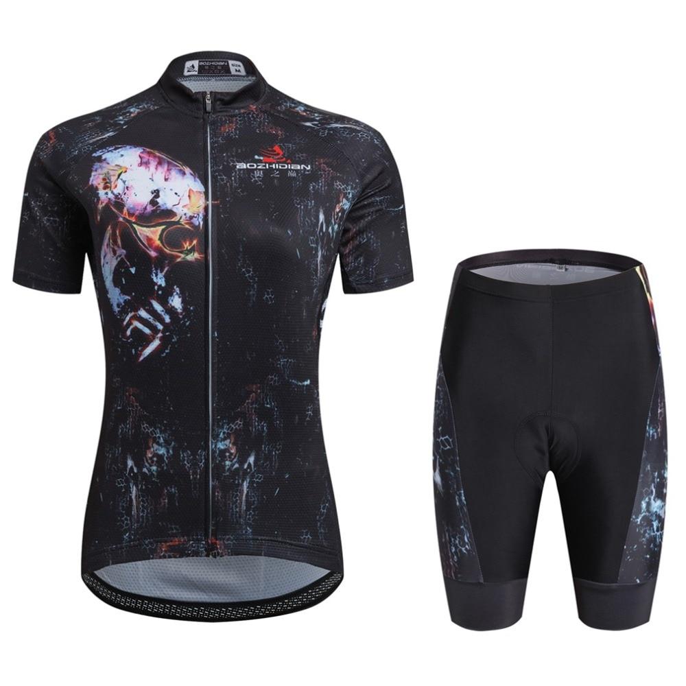 Womens Cycling Clothing Kit Maillot Ciclismo Cycling Jersey & Shorts Kit Equipe Cycling Clothes Set Ladies Team Cycling Set