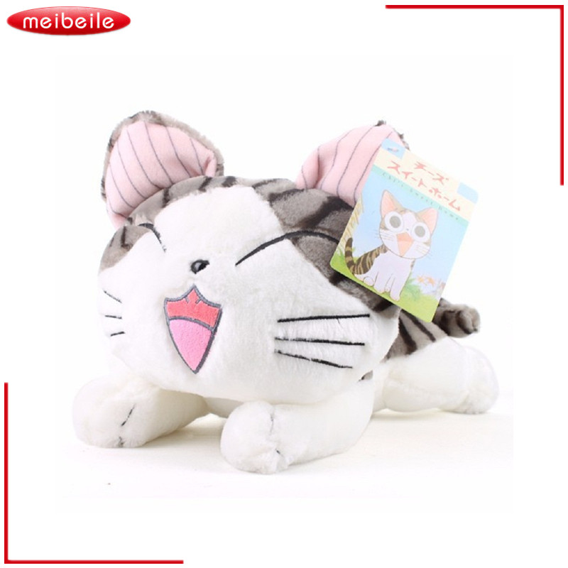 Puikus 20CM pliušiniai žaislai Kačių įdaryti minkšti gyvūnai lėlės Kūdikių kūdikių dovanos įdaryti žaislai vaikams Mergaitės vaiko gimtadienio Kalėdos