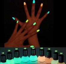 Fluorescent glow varnish dark pigment luminous candy beauty in polish art