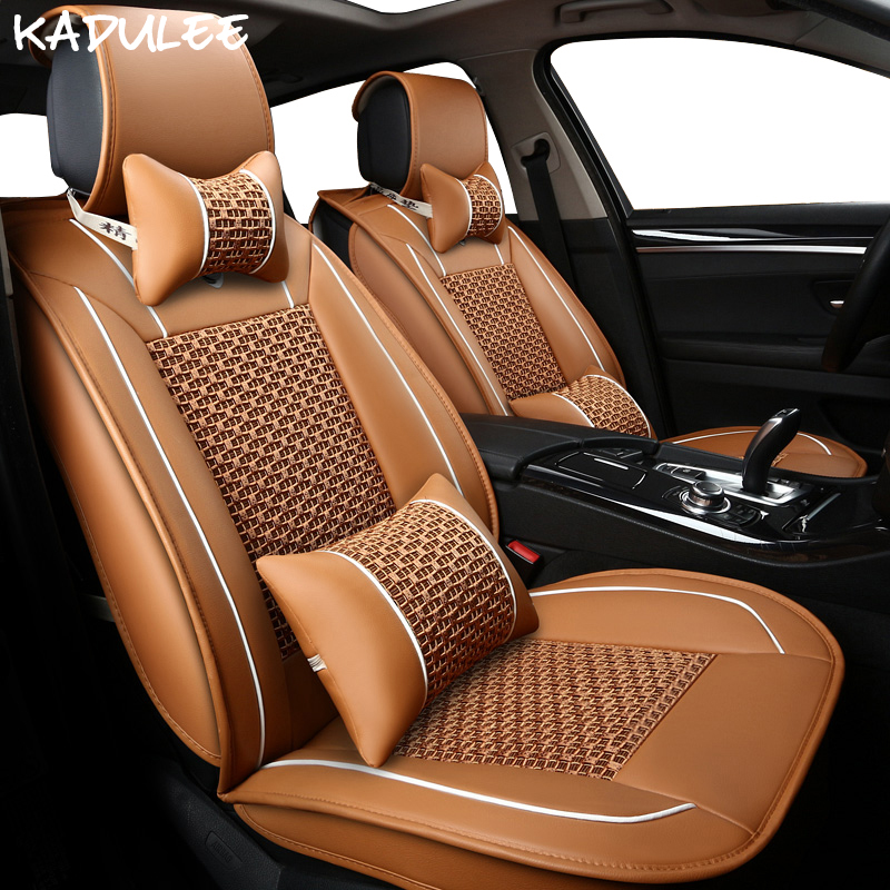 Brilliant Kadulee Ice Silk Car Seat Covers For Volvo V70 V40 Renault Symbol Suzuki Jimny Nissan Tiida Ford Fiesta Kia Picanto Car-styling Top Watermelons Back To Search Resultsautomobiles & Motorcycles