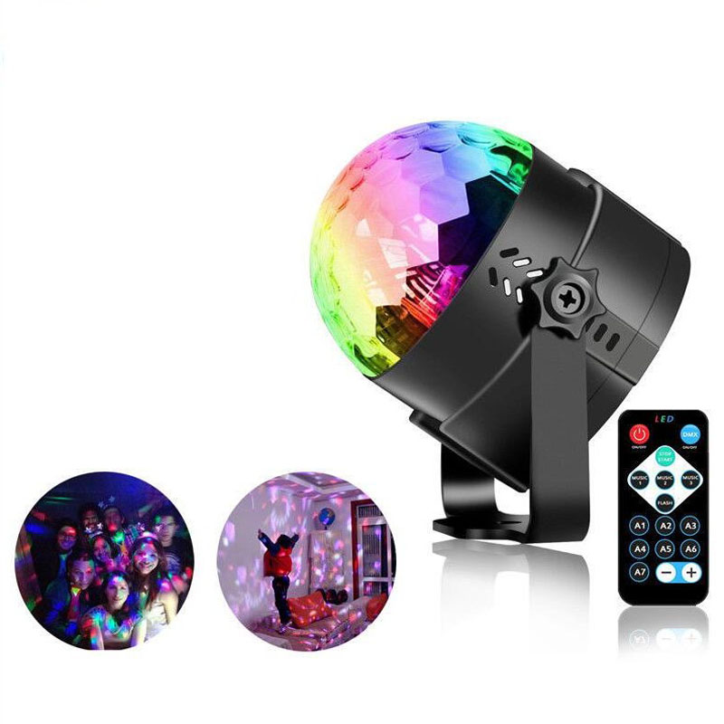 Creative Dropshipping Projector Christmas Light Effect Party Music Lamp Led Stage Light Disco Lights Dj Disco Ball Sound Activated Laser Commercial Lighting Stage Lighting Effect