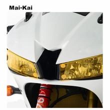 MAIKAI For HONDA CBR600RR CBR 600RR 2013-2018 Motorcycle Headlight Protector Cover Shield Screen Lens