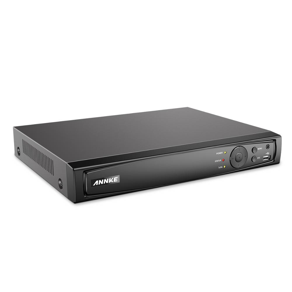 ANNKE 8CH 4K POE NVR Recorder For CCTV Kit VGA HDMI Security System NVR For 1080P