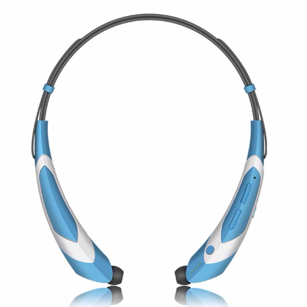 Neckband Sport Earphone V4.1 Bluetooth Headphones Wireless Headset Stereo Headset Noise Cancelling Earbuds with Mic