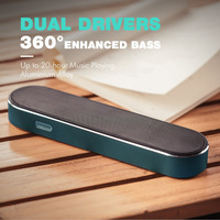 HAVIT 2000mAh 10W Bluetooth Speaker Stereo Super Bass Wireless Speaker AUX Portable Sound Box For IPhone