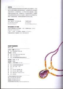 Image 3 - Chiński kolorowy ołówek kryształ biżuteria naszyjnik malarstwo rysunek artystyczny książka