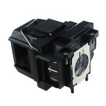 Высокое качество ELPLP67/V13H010L67 Совместимость голые лампы для проектора Epson EX3210 PowerLite 1221 домашний кинотеатр 710HD Epson EB-S02