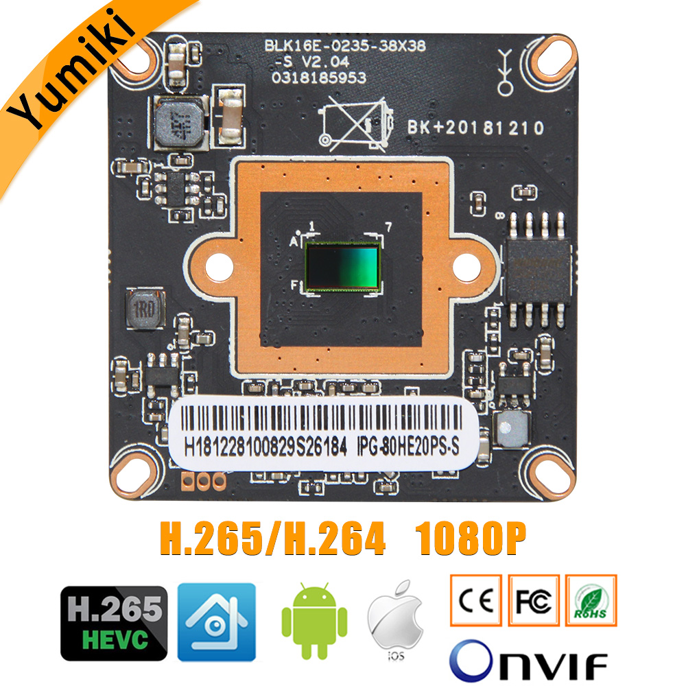H.265/H.264 1080 P 3516E + SC2335 1920*1080 Placa do Módulo de Câmera IP Baixa iluminação ONVIF CMS XMEYE p2P Nuvem Vigilância Móvel