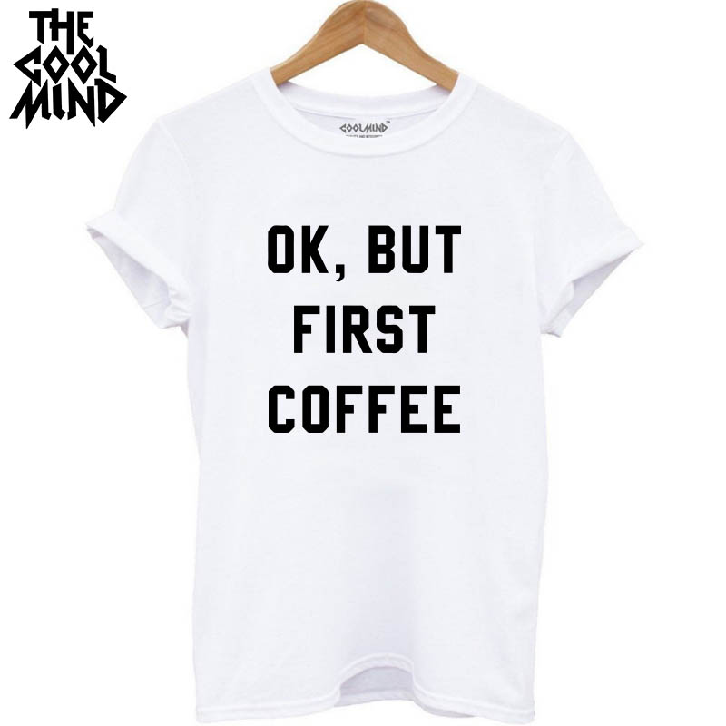 THE COOLMIND Casual O Neck Knitted woman T Shirt Quality Loose Cotton Short Sleeve ok but