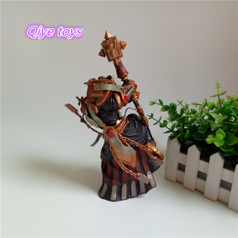 Game WOW Paladin Judge Malthred Action figure Toy Character PVC Figure 21cm Figurine Doll Gift 4