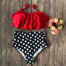 Купить с кэшбэком Off Shoulder Women Bikini Set Camisole Bathing Suit Bikinis 2019 Mujer Bandage Push Up Padded Swimwear Swimsuit Bathing Suits