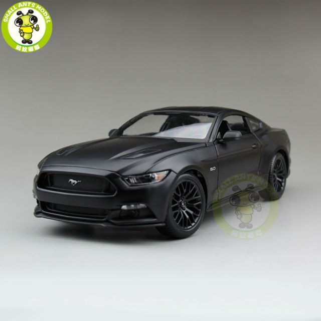 Matte Black Wallpaper 1 18 2015 Ford Mustang Gt 5 0 Diecast Car Model For Gifts
