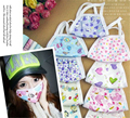 5x Cute Girls Womens Gauze Face Mouth Mask Anti-dust Cold Flue Respirator