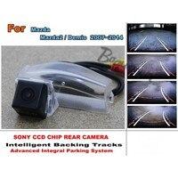 Für Mazda M2 Mazda2/Demio Auto Intelligent Parking Tracks kamera/HD Sichern Kamera/Rückansicht kamera