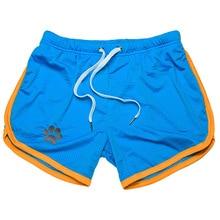 Mesh Swimwear Men Breathable Mens Swimsuit Sunga Soft Swimming Trunks Swim Suit Men Board Swimming Shorts Surfing Shorts Briefs
