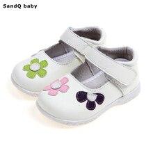 Обувь принцессы для девочек; Новинка года; сезон весна; детская обувь из натуральной кожи для девочек; детские сандалии с цветами; модная обувь для малышей
