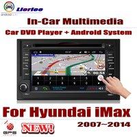 Автомобильный Android Системы с двумя камерами, процессор RockChip PX5 1080 P ips ЖК дисплей Экран для hyundai зарядное устройство iMax 2007 ~ 2014 DVD плеер gps навига