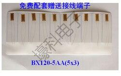 10 Фольга сопротивление нагрузки Измерительные приборы/номер Температура тензометрических bx120-5aa (5x3)