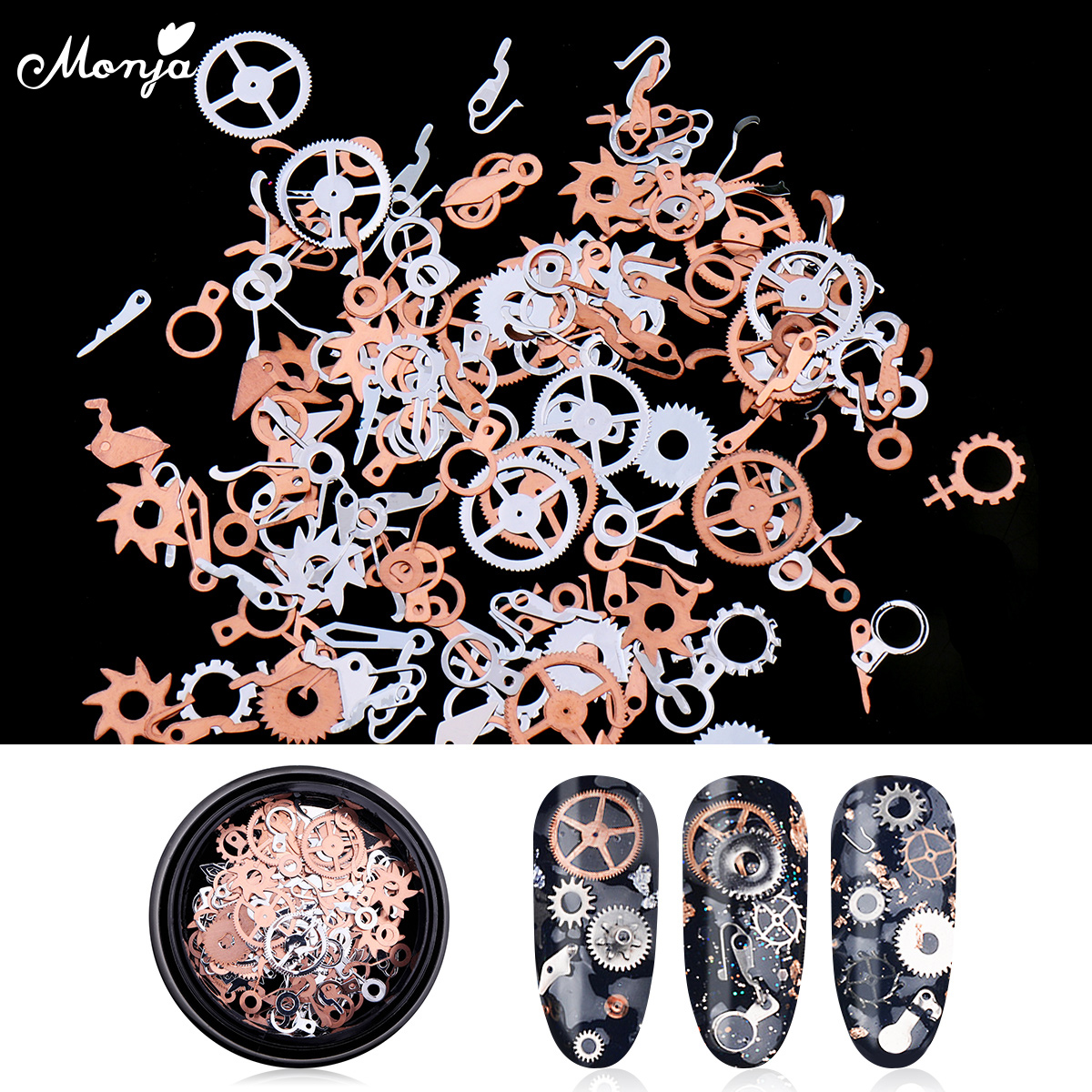 Top 9 Most Popular Wheel Metal Nail Art Charms Brands And