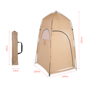 Image 4 - TOMSHOO Portable Outdoor Tents Shower Bath Changing Fitting Room Tent Shelter Camping Beach Privacy Toilet Camping & Hiking