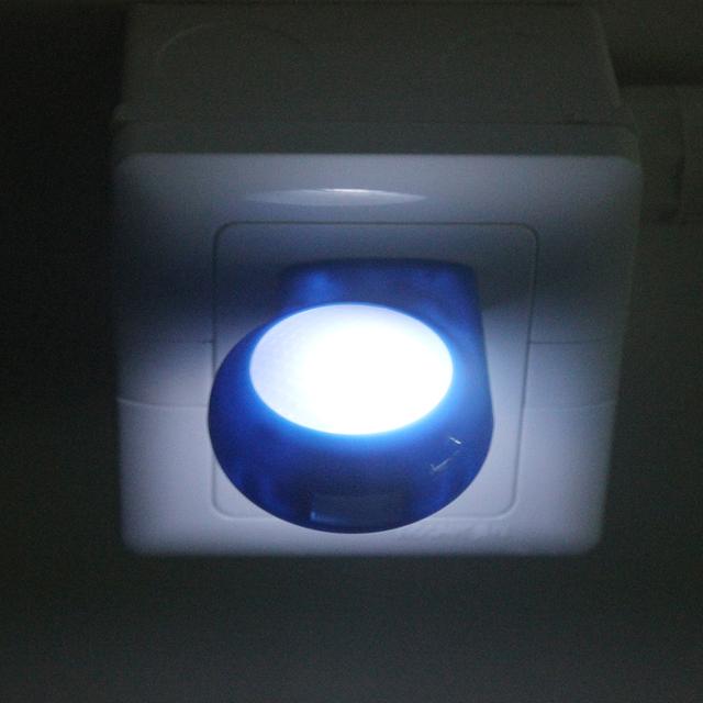 iTimo AC 100V-240V Mini LED Night Light Auto Sensor EU US Plug Baby Bedroom Emergency Lamp Smart Lighting Control Nightlights