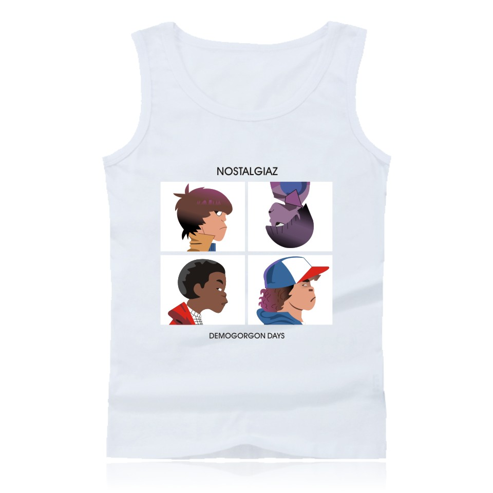 Stranger Things Fashion   Tank     Top   Mens Hip Hop and Stranger Things Sleeveless Shirts Summer Vests Plus Size
