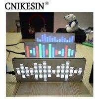 CNIKESIN DIY Touch Big Size 225 Segment LED Digital Equalizer Music Spectrum Sound Waves DIY Kits