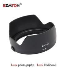 ES68 II ES-68 Petal baynet flower lens hood Digicam Lens Hood for Canon EOS EF 50mm f/1.eight STM improve of es68 lens protector