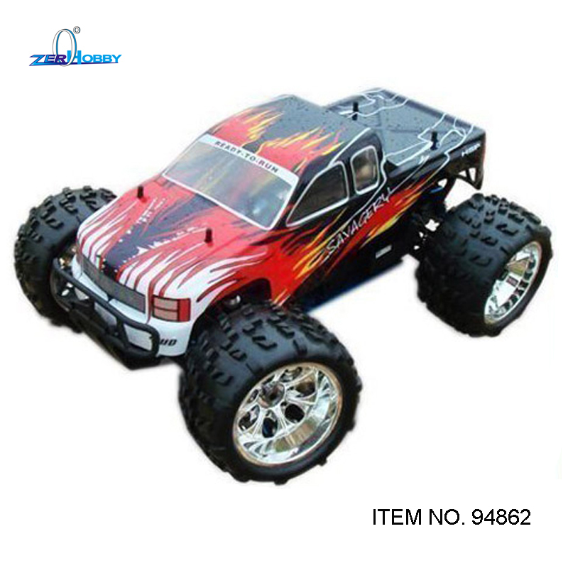HSP RACING RC CAR SAVAGERY OR NOKIER 94862 1/8 SCALE NITRO POWER 4WD OFF ROAD MONSTER TRUCK 18CXP ENGINE free shipping rc car 1 10 hsp 02060 bl vx 18 engine 2 74cc pull starter blue for rc 1 10 nitro car buggy truck 94122 94166 94188