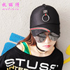 Fashion Summer New Style Silk Ribbon Baseball Cap Outdoors Sunscreen Sunhat Lady Casual Peaked Cap Casquette