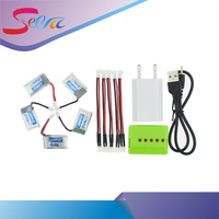 5pcs 150mAh 3 7V Li Po Battery And X5 USB Charger EU Plug Furibee F36 Eachine