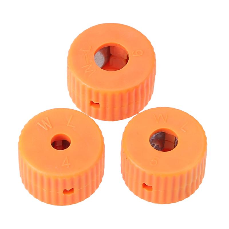 3Pcs 4/5/6mm Mini Screwdriver Magnetizer Ring Plastic Magnetic Round Pick Up Tool Magnetizer With Hole For Screwdriver Bits