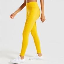 Women Yoga Pants High Waist Gym Pants Fitness Sports Leggings Elastic Yoga Leggings Seamless Sportswear Quick Dry Sport Wear